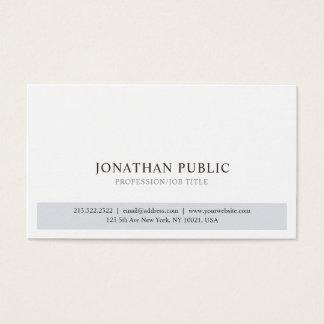 Cartão De Visitas Design simples elegante moderno profissional