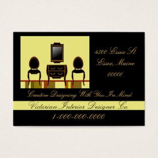 Cartão De Visitas Designer de interiores