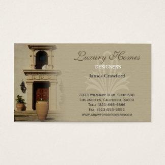Cartão De Visitas designerscard1, casas luxuosas, DESENHISTAS, 3333
