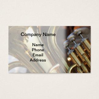 Cartão De Visitas Detalhe da banda filarmónica