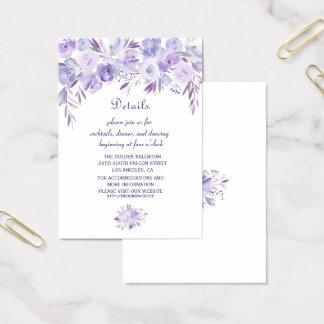 Cartão De Visitas Detalhes do casamento da grinalda do cacto do