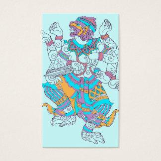 Cartão De Visitas Deus do macaco de Hanuman