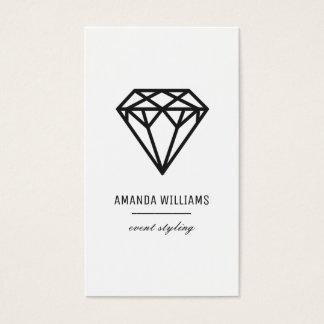 Cartão De Visitas Diamante