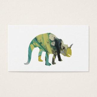 Cartão De Visitas Dinossauro