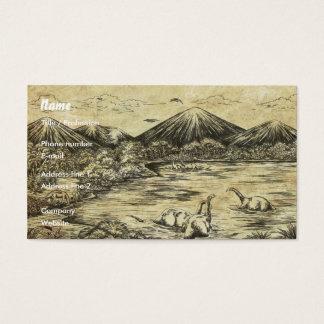 Cartão De Visitas Dinossauros
