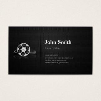 Cartão De Visitas Diretor video profissional do cortador do editor