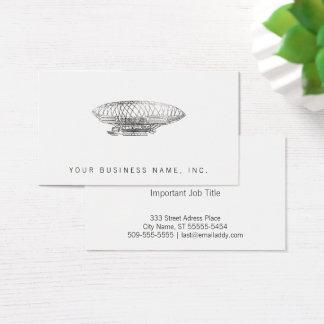 Cartão De Visitas dirigível (estilo da tipografia)
