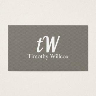 Cartão De Visitas Diseño Elegante Moderno Minimalista
