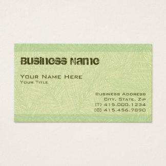 Cartão De Visitas ~ do limão palm2 bc