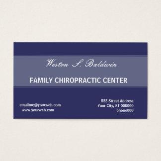 Cartão De Visitas Doutor mínimo simples Quiroterapia da nomeação