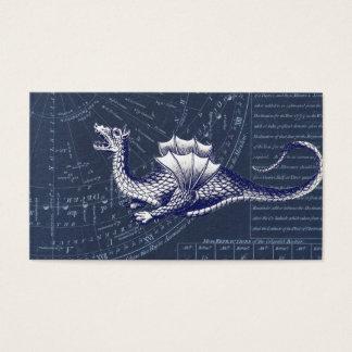 Cartão De Visitas Dragão na carta de Bue Gobal