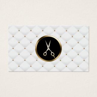 Cartão De Visitas Edredões luxuosas modernas do salão de beleza do