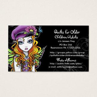 Cartão De Visitas Edredões para a ordem feita sob encomenda mais