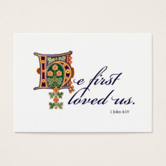 Cartão De Visitas Ele primeiramente & seguro