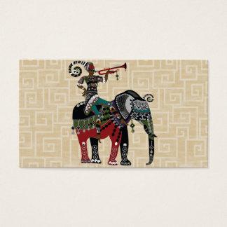 Cartão De Visitas Elefante