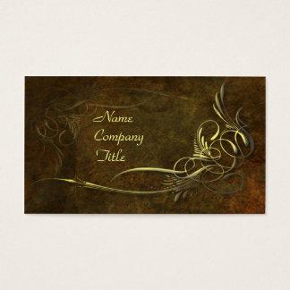 Cartão De Visitas Elegância de Nouveau da arte