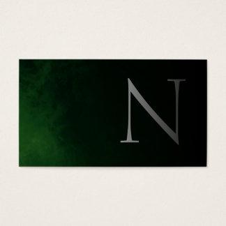 Cartão De Visitas Elegant and Modern ( Green ) 2