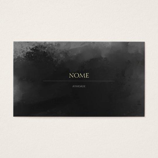 Cartão De Visitas Elegante 3 Gray