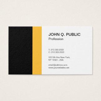 Cartão De Visitas Elegante profissional moderno simples minimalista