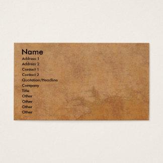 Cartão De Visitas Elementos antigos