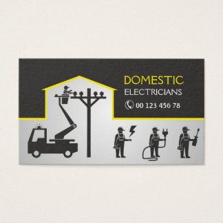 Cartão De Visitas Eletricistas domésticos