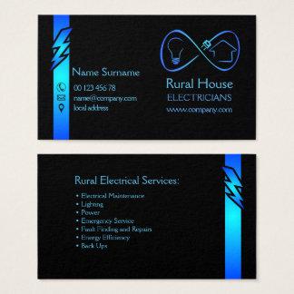 Cartão De Visitas Eletricistas rurais da casa