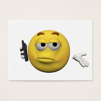 Cartão De Visitas Emoticon do telefone