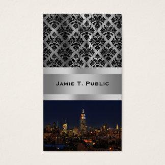Cartão De Visitas Empire State Building: Noite 2012 #2 da eleição