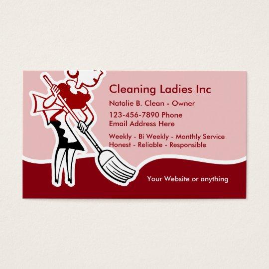 Home Design Business Ideas: Cartão De Visitas Empregada Doméstica Da Limpeza Da Casa