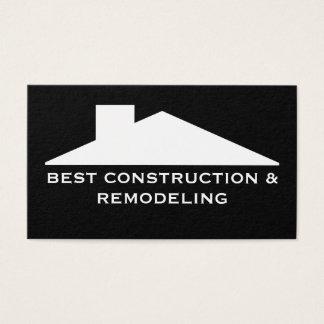 Cartão De Visitas Empresa de serviços da construção