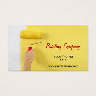 Cartão De Visitas empresa/pintor/designer de interiores da pintura
