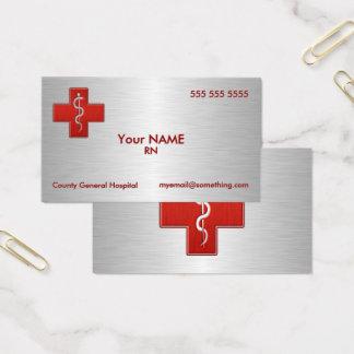 Cartão De Visitas Enfermeira de luxe
