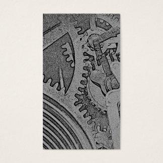 Cartão De Visitas Engrenagens