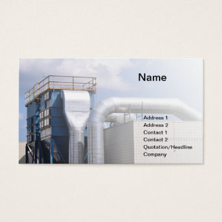Cartão De Visitas equipamento da ATAC ou de refrigeração