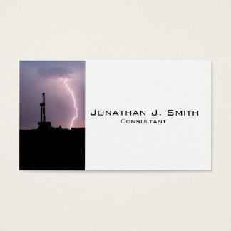 Cartão De Visitas Equipamento de perfuração para a exploração do