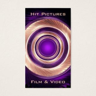 Cartão De Visitas Escalada em volta do fotógrafo Videographer da