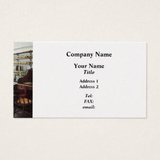 Cartão De Visitas Escritório no laboratório de química - platina