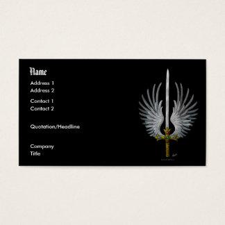 Cartão De Visitas Espada voada