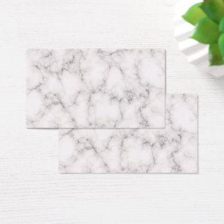Cartão De Visitas Estilo de mármore elegante