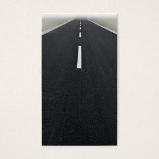Cartão De Visitas estrada infinita