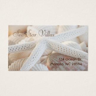 Cartão De Visitas Estrela entre escudos