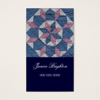 Cartão De Visitas Estrela floral