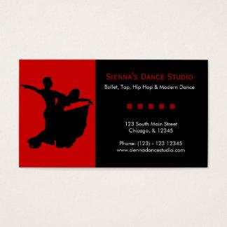 Cartão De Visitas Estúdio da dança