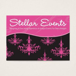 Cartão De Visitas Eventos estelares