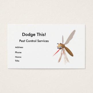 Cartão De Visitas Evite isto! Controlo de pragas - negócio