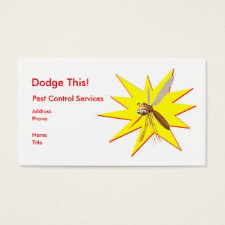 Cartão De Visitas Evite isto! Faísca do amarelo do controlo de