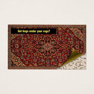 Cartão De Visitas Exterminator do controlo de pragas - insetos