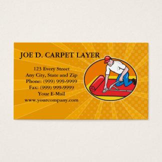 Cartão De Visitas Faca do talhador de carne do trabalhador do