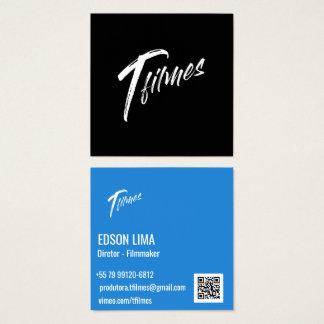 Cartão de Visitas Filmmaker e Fotógrafo