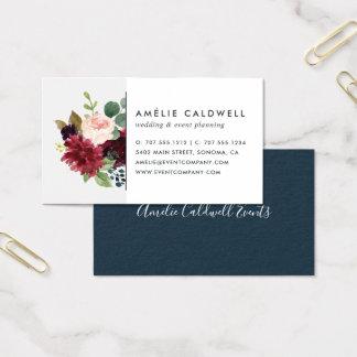 Cartão De Visitas Flor brilhante